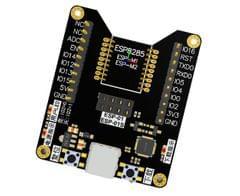 [1-PACK] ESP8285 BURNER FIXTURE TEST BOARD MINIMUM SYSTEM DEVELOPMENT BOARD FOR ESSENCE ESP-12S/12F/12E/07S/07 SERIES MODULE