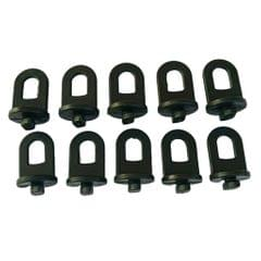 10-pack Greenhouse Hanging Net Clips Crop Hooks