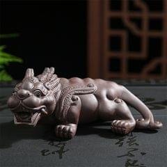 Redware Tea Attracts Lucrative Mythical Wild Animal Handmade Tea Plate Home Decoration