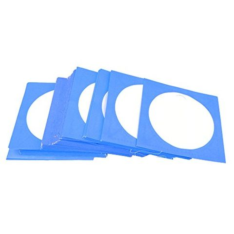 100X CD DVD Clear Plastic Sleeves Wallet Cover Case CD DVD Storage Case