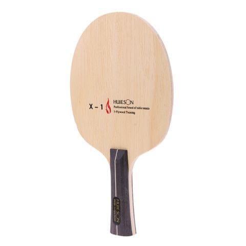 Compact Portable 5 Layers Wood Table Tennis Racket Ping Pong Long Handle Bat Paddle