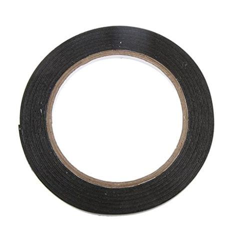 Black Extra Strong Permanent Double Sided Self Adhesive Foam Car Trim Body Tape