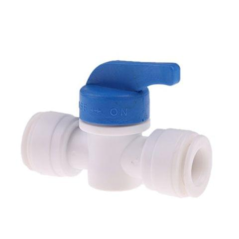 3/8 ''OD Tube Ball Valve Quick Connect Shut Off for RO Water Reverse Osmosis
