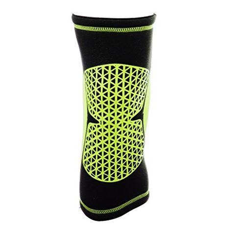 Sports Basketball Soccer Running Cycling Knee Support Soft Sweat Absorbing Sleeve Kneepad Brace M