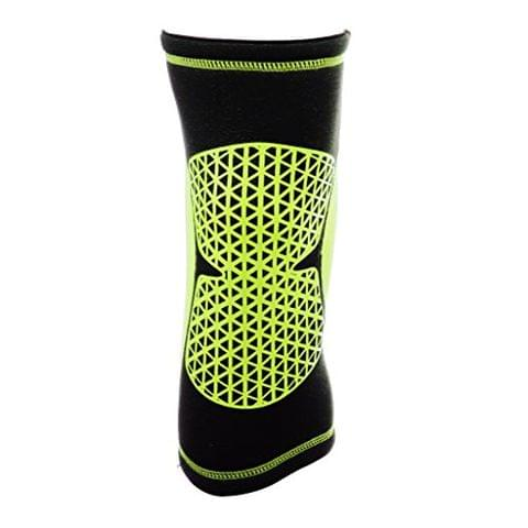 Sports Basketball Soccer Running Cycling Knee Support Protective Gear Soft Sweat Absorbing Sleeve Kneepad Brace L