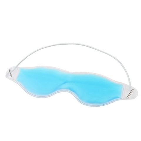 Eye Care Cool Cold Hot Eyes Mask Stress Relief Eye Soothing Relaxing Blue
