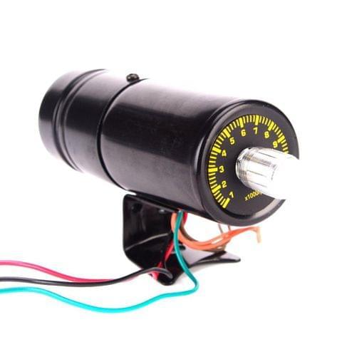 11000 Red LED Adjust Adjustable Tachometer RPM Tacho Gauge Shift Light