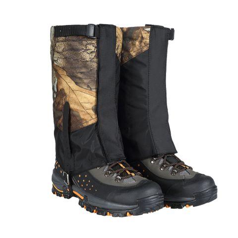 2x Outdoor Hiking Waterproof Short Leg Gaiters Snow Legging Leg Cover Wrap