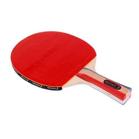 Lightweight 7 Layer Wood Table Tennis Bat Paddle Long Handle Shake Hand Grips Racket Sports Accessories