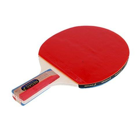 Lightweight Table Tennis Ping Pong Short Handle Penhold Grip Racket Paddle Bat with Case Bag