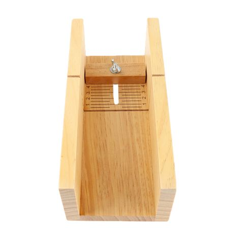 Pro Handmade Soap Repair Mold Loaf Cutter Adjustable Wooden Planer Cutting Making Slicer Box Case