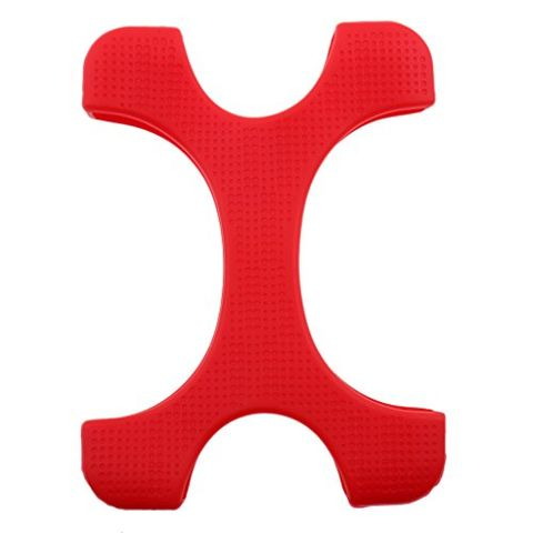 2.5inch Shockproof Hard Drive Disk HDD Silicone Rubber Case Backup Protector Red