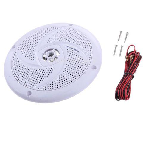 White 6.5 Inch Speaker Waterproof Audio Amplifier for Boat Marine Car RV