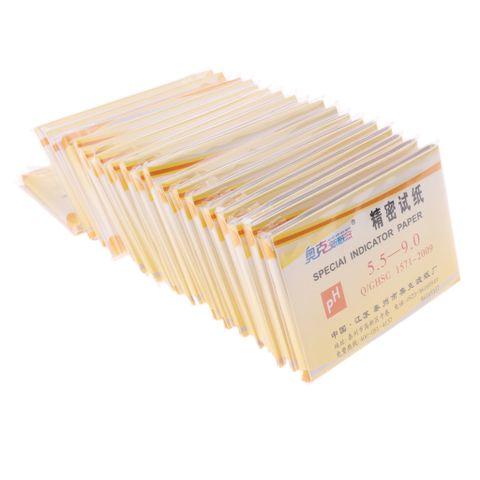 20 Packs -1600Pcs Ph 5.5-9.0 Test Indicator Litmus Paper Strips Tester