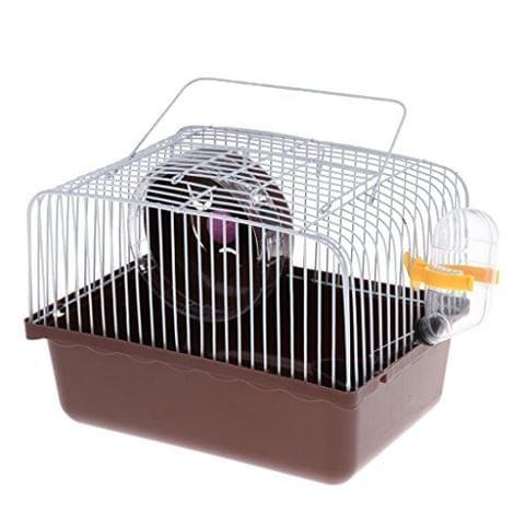 Portable Pet Hamster Cage Guinea Pig Gerbils Mice House Random Color