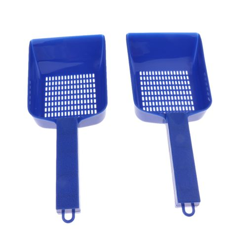 2 Pcs Aquarium Tank Plastic Gravel Strainer Shovel Sand Scraper Scoop Tool