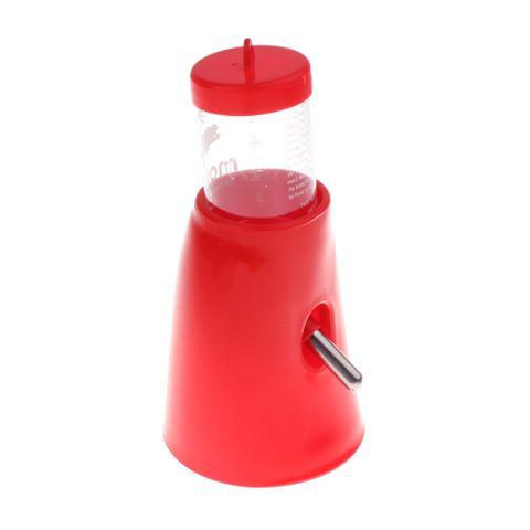 Pet Dual Purpose Hamster Water Bottle Guinea Pig Water Dispenser Feeder Nest