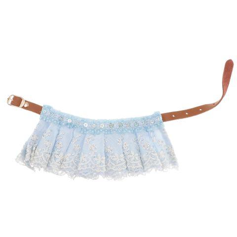 16-Inch Pet Puppy Lace Bandana Collar -Adjustable Cat Pet Neckerchief Scarfs
