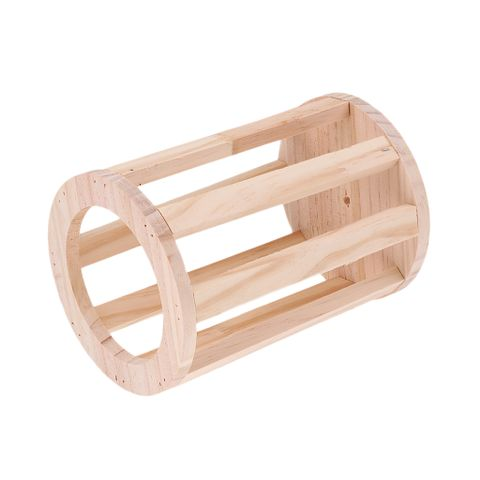 HAY GRASS RACK WOODEN MATERIAL FOOD DISPENSER DISH BOWL FOR SMALL ANIMALS