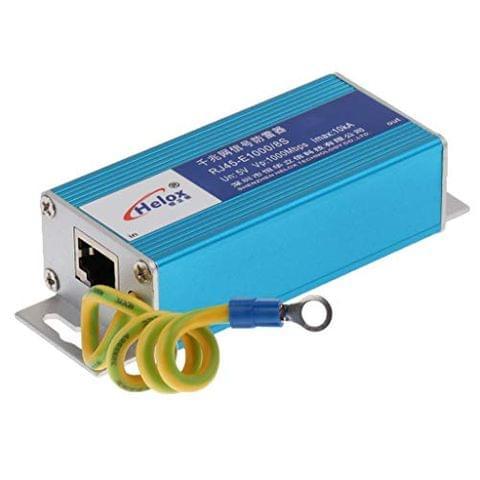 Ethernet LAN 1000Mbps RJ-45 Surge Protector for Thunder&Lightning Protection