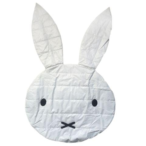 Baby Kids Play Mat Foam Floor Child Activity Soft Toy Gym Crawling Creeping Blanket Cute Rabbit Model Game Thin Mat White