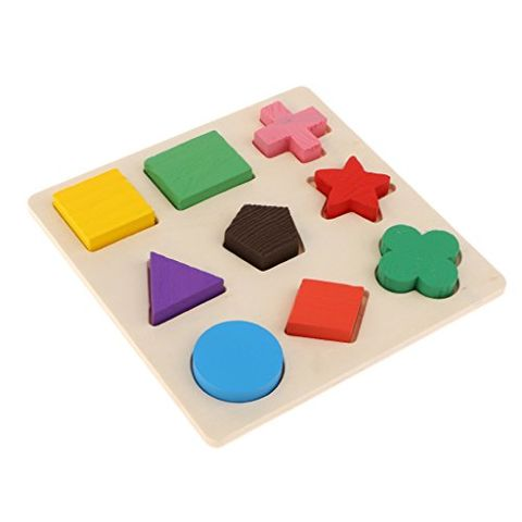 Bird Activity Toy Parrot Chewing Toy Smart Training Wooden Puzzle Blocks Toy
