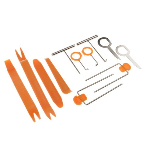 Set of 12 Installer Remove Tool Kit for Car Audio Home Furniture Antiques Restorations