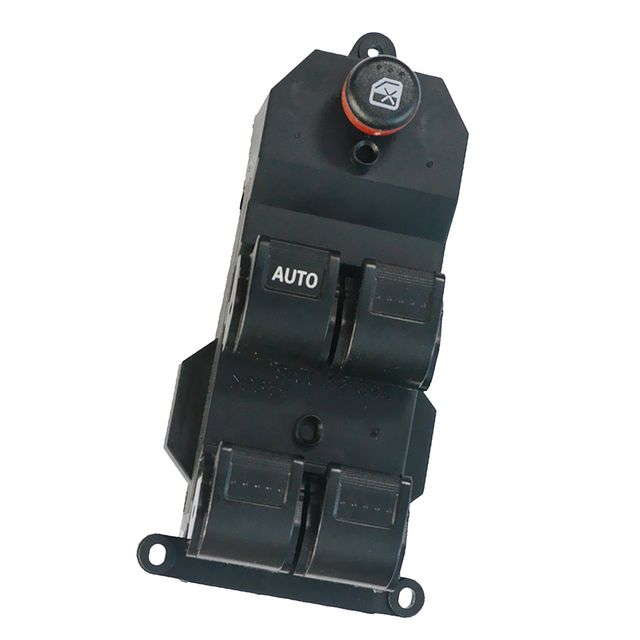 Replacement Electric Power Window Master Switch 4-Button for 2001-2005 Honda Civic Black
