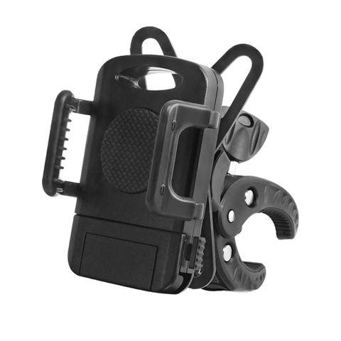 Adjustable Smart Phone Holder for Bicycle Motorcycle Stroller Handlebars