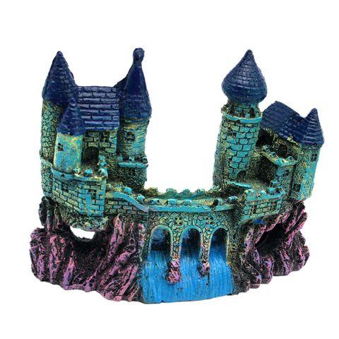 Resin Cartoon Castle Aquarium Decoration Castle Tower Ornament