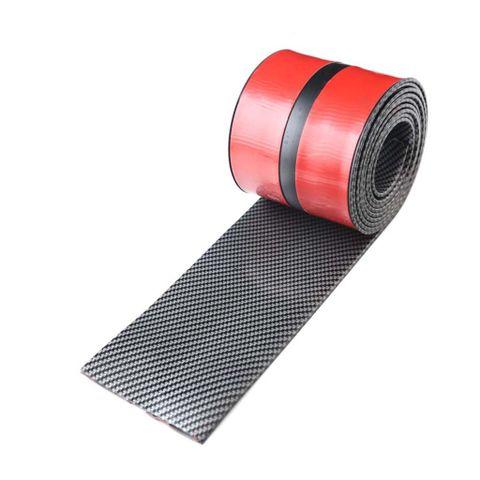 2.5m Car Vehicle Door Edge Bumper Strip Lip Guard Decor Protector Moulding Trim with Self Adhesive Tape