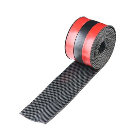 2.5m Car Vehicle Door Edge Bumper Strip Lip Guard Decor Protector Moulding Trim with Self Adhesive Tape_52021353