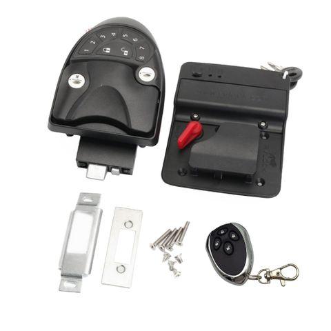 Brand New Car Security Remote Control Door Lock Latch Handle Knob Kit