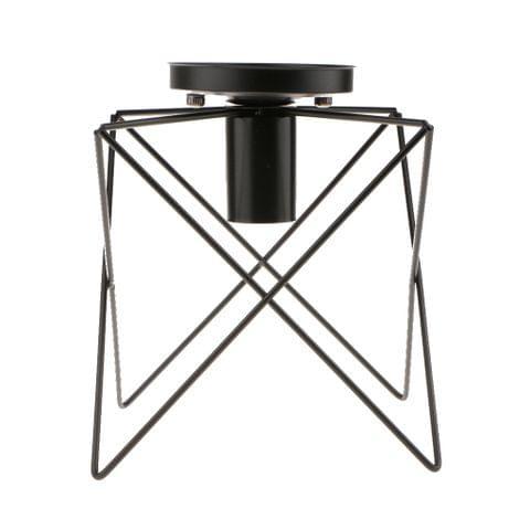 Unique M Shape Metal Ceiling Pendant Lampshade Chandelier Hanging Light Shade for Home Bar Cafe Restaurant Decoration, E27 Base