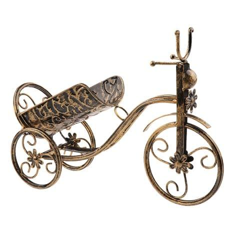 Bicycle Wine Bottle Holder Champagne Wine Rack for Christmas Wedding Party Dinner Table Decor