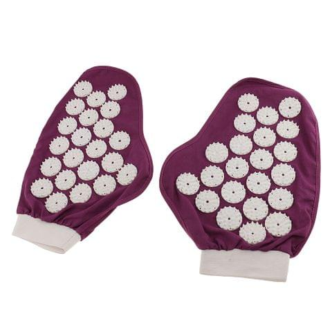 1 Pair of Massager Glove Muscle Pain /Fatigue /Soreness Stress Relief Relaxation Blood Circulation