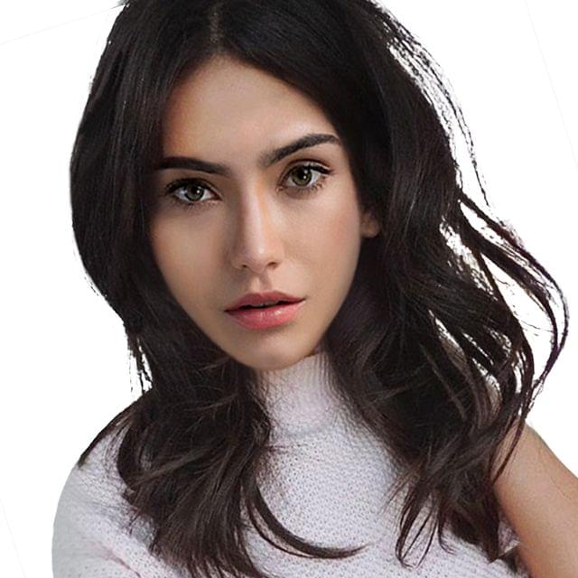 Natural Synthetic Hair Wig Long Curly Wavy Full Wigs Cosplay Black For Women