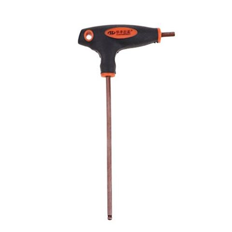 Roller Skates T-Handle Wrench Hexagon Spanner Inline Skates Mounting Tool with Rubber Handle Outdoor Skating Gear 16cm