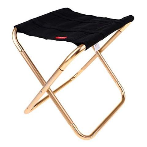Portable Folding Camping Chair Outdoor Picnic Beach Stool with Carrying Bag, Lightweight and Durable to Use