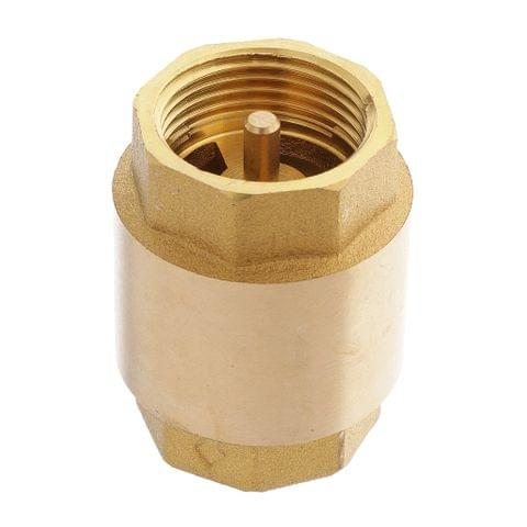 Brass Non-Return Check Valve Air Liquid One Way Check Valve 3/4 inch