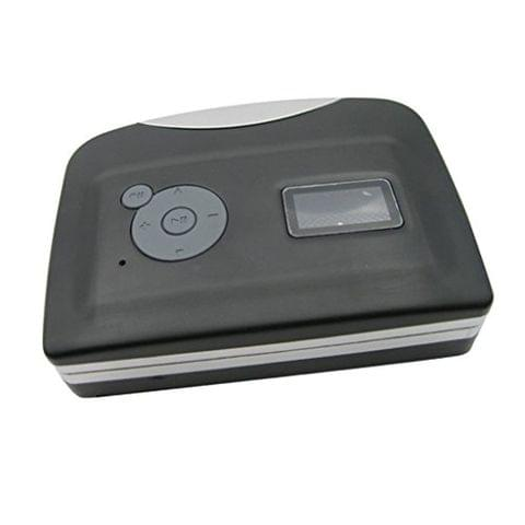 USB Cassette Tape to MP3 PC Converter Capture Stereo Audio Music Player Compatible with Windows XP, Vista and Windows 7