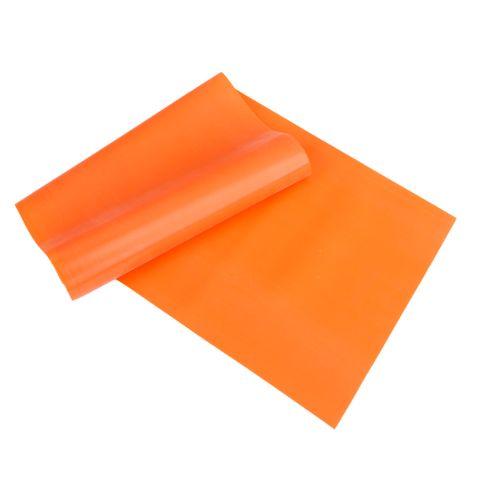 Elastic Yoga Rubber Stretch Resistance Exercise Fitness Band Belt Orange