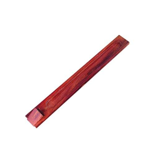 Wooden Incense Stick Burner Holder Handmade Joss Insence Stand Ash Catcher