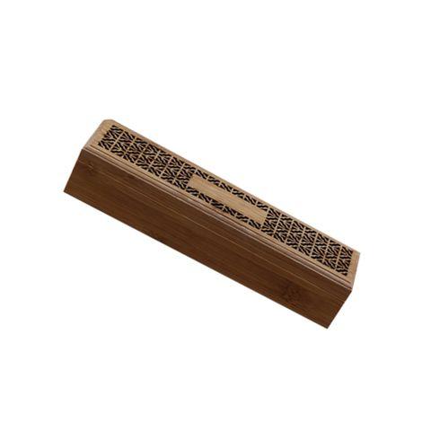 Japanese-Style Incense Stick Burner Holder Bamboo Tower Censer Ash Catcher