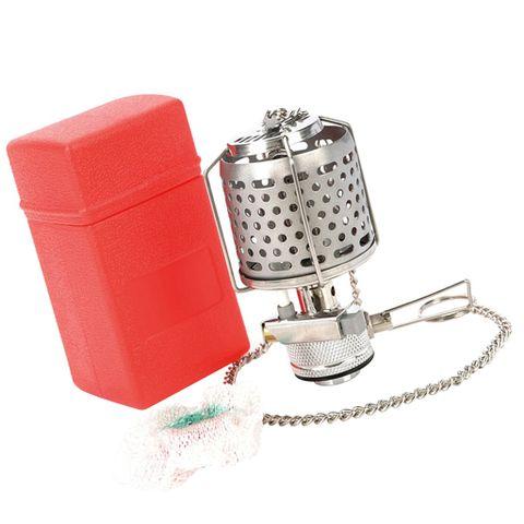 Mini Portable Camping Lantern Gas Light Tent Lamp Torch Hanging Lamp