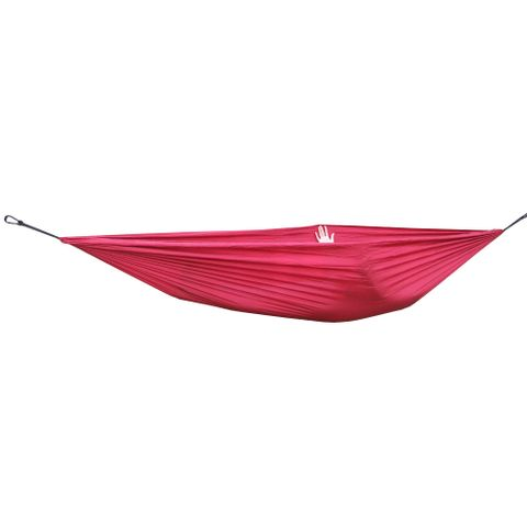 Portable Lightweight Convenient To Carry Hammock FOR Camping Hiking Travelling Picnic Backyards Wine Red 106 x 55 inch
