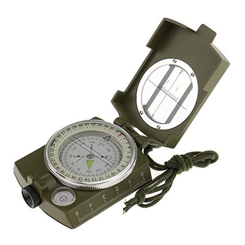 High Quality Luminous Compass Waterproof Outdoor Camping Hiking Compass