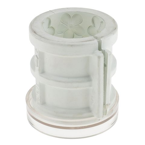 Flower Pattern Rubber Candle Making Mould Candle Mold Soap Mould Tool for Candle Making Craft 7x9cm