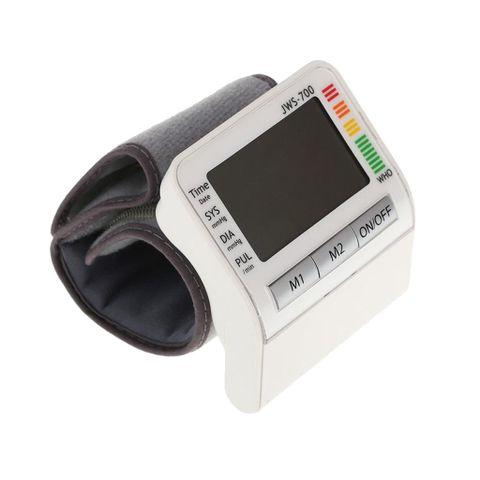 Digital Automatic Wrist Blood Pressure Heart Beat Rate Health Monitor Test