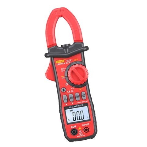 Handheld AC/DC Mini Digital Clamp Meter Resistance Capacitance Multimeter